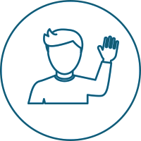 Person Wave Icon